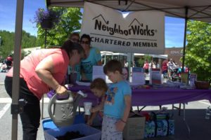 neighborworks booth at 3rd annual community celebration