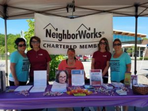 neighborworks chartered member booth from 3rd annual community celebration