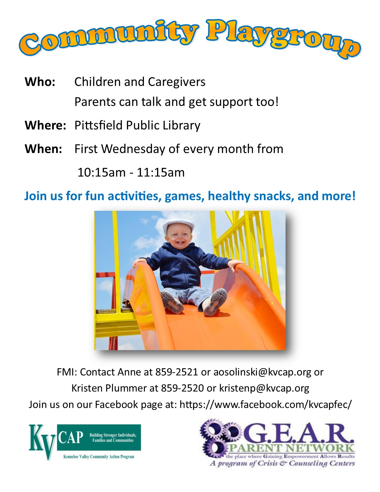 pittsfield community playgroup poster