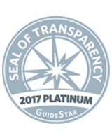 seal of transparency 2017 platinum guidestar seal